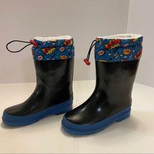 Aldi kids Rubber Snow Boots Size 13